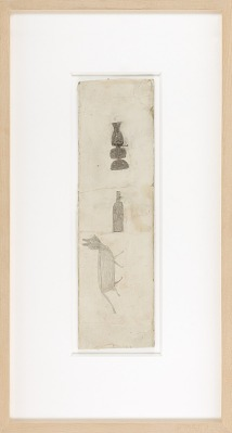 Untitled (Lamp, Bottle, and Cat)