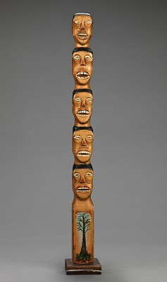 Untitled (Family Tree Totem)