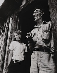 Appalachian father and son, Mingo County, West Virginia
