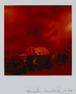 Untitled from the series Wild West SX-70