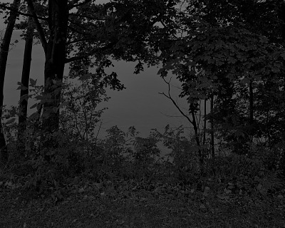 Untitled #24 (At Lake Erie) from the series Night Coming Tenderly, Black