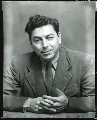 Eduardo Arcenio Chavez [photograph] / (photographed by Peter A. Juley & Son)