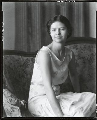 Katherine Schmidt (Mrs. Yasuo Kuniyoshi) [photograph] / (photographed by Peter A. Juley & Son)