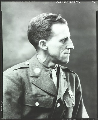 A. Henry Nordhausen in military uniform [photograph] / (photographed by Peter A. Juley & Son)