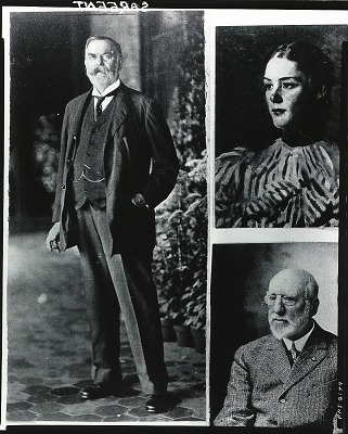 John Singer Sargent [photograph] / (photographed by Peter A. Juley & Son)