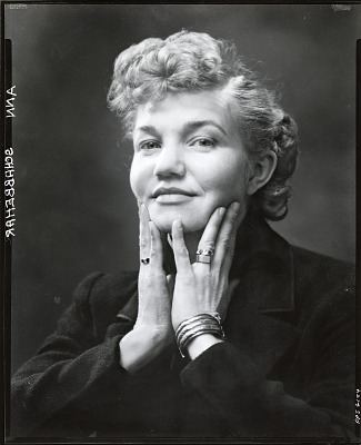 Ann Brennan Schabbehar [photograph] / (photographed by Peter A. Juley & Son)