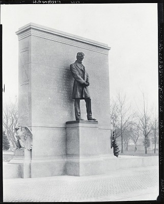 Abraham Lincoln [sculpture] / (photographed by Peter A. Juley & Son)