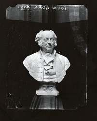 Model for John Adams [sculpture] / (photographed by A. B. Bogart)