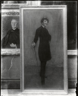 James Abbott McNeill Whistler [painting] / (photographed by Peter A. Juley & Son)