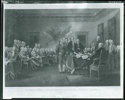 The Declaration of Independence of the United States of America [graphic arts] / (photographed by Peter A. Juley & Son)