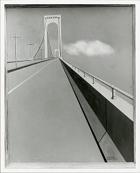 Whitestone Bridge [painting] / (photographed by Peter A. Juley & Son)