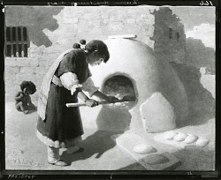 The Breadmaker [painting] / (photographed by Peter A. Juley & Son)