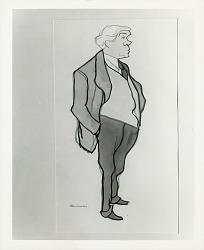 Portrait of Abraham Walkowitz [drawing] / (photographed by Peter A. Juley & Son)