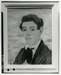Self-Portrait [painting] / (photographed by Peter A. Juley & Son)