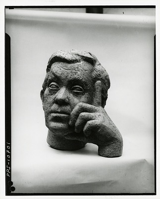 Abraham Walkowitz [sculpture] / (photographed by Peter A. Juley & Son)