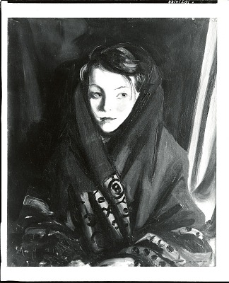 Her Sunday Shawl [painting] / (photographed by William McKillop)