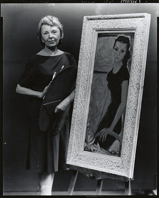 Anna Licht (?) [photograph] / (photographed by Peter A. Juley & Son)
