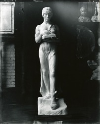 Sacred Fire [sculpture] / (photographed by Peter A. Juley & Son)