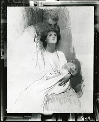 The Mother (sketch) [painting] / (photographed by Peter A. Juley & Son)