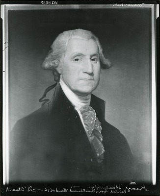 George Washington [painting] / (photographed by Peter A. Juley & Son)