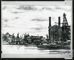 Harlem River [art work] / (photographed by Peter A. Juley & Son)