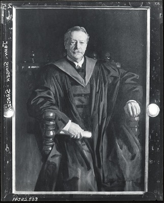 Abbott Lawrence Lowell [painting] / (photographed by Peter A. Juley & Son)