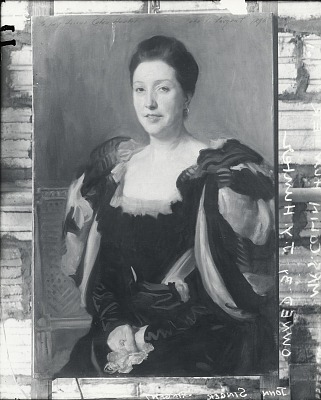 Mrs. Colin Hunter [painting] / (photographed by Peter A. Juley & Son)