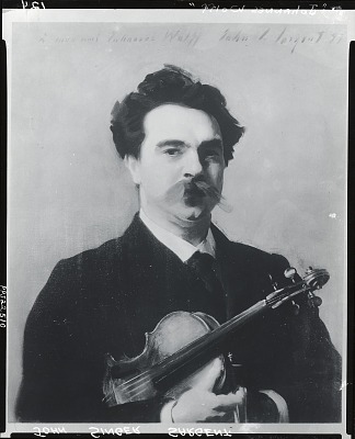 Johannes Wolff [painting] (photographed by Peter A. Juley & Son)