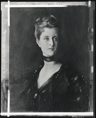 Mrs. Henry White [painting] / (photographed by Peter A. Juley & Son)