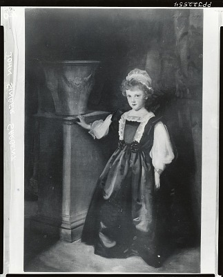 The Honourable Laura Lister [painting] / (photographed by Peter A. Juley & Son)