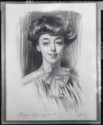 Miss Choate [drawing] / (photographed by Peter A. Juley & Son)