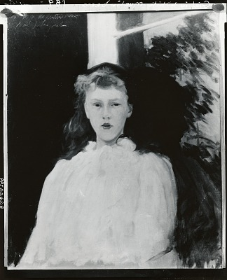 Polly Barnard [painting] / (photographed by Peter A. Juley & Son)