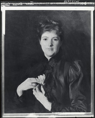 Mrs. Augustus Hemenway [painting] / (photographed by Peter A. Juley & Son)