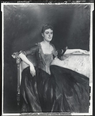 Mrs. Thomas Lincoln Manson, Jr. [painting] / (photographed by Peter A. Juley & Son)
