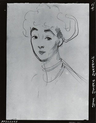 The Duchess of Marlborough [drawing] / (photographed by Peter A. Juley & Son)