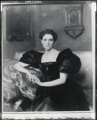Elizabeth Winthrop Chanler [painting] / (photographed by Peter A. Juley & Son)