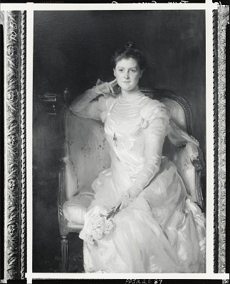 Mrs. Joshua Montgomery Sears [painting] / (photographed by Peter A. Juley & Son)