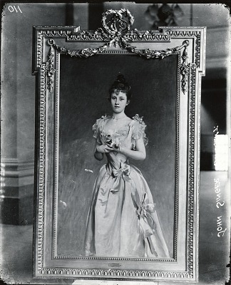 Grace Woodhouse [painting] / (photographed by Peter A. Juley & Son)