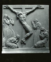 From Stations of the Cross [art work] / (photographed by Peter A. Juley & Son)