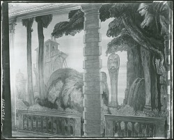 Mural Decoration for the Sulgrave Hotel [painting] / (photographed by Peter A. Juley & Son)