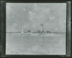 The Lighthouse [painting] / (photographed by Peter A. Juley & Son)