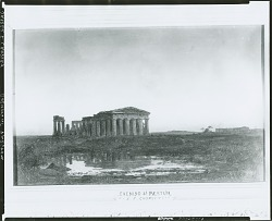 Evening at Paestum [painting] / (photographed by Peter A. Juley & Son)