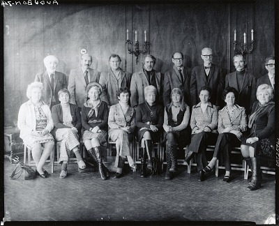 Audubon Artists Exhibition Jury [photograph] / (photographed by Peter A. Juley & Son)