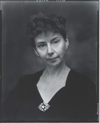 Peggy Bacon [photograph] / (photographed by Peter A. Juley & Son)