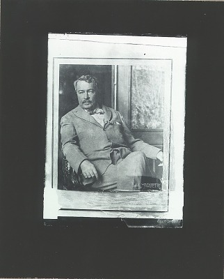 Childe Hassam [photograph] / (photographed by Peter A. Juley & Son)