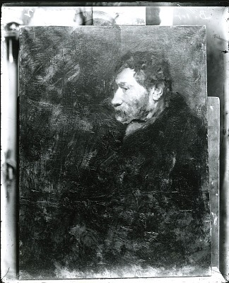 Russian Jew [painting] / (photographed by Peter A. Juley & Son)