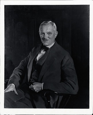 Frederick P. Keppel, Esq. [painting] / (photographed by Peter A. Juley & Son)