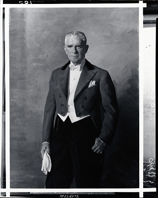Mr. O'Connell [painting] / (photographed by Peter A. Juley & Son)