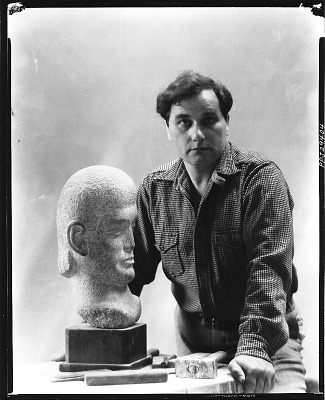 William Zorach [photograph] / (photographed by Peter A. Juley & Son)