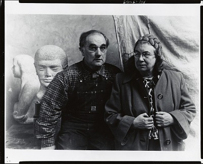 Marguerite and William Zorach [photograph] / (photographed by Peter A. Juley & Son)